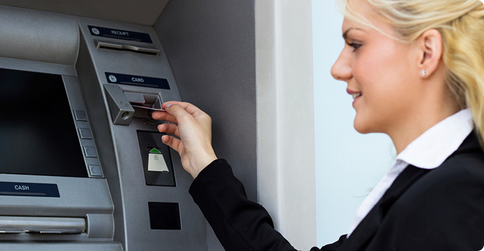 Individual & Business Debit Cards, 24-hour ATM Access